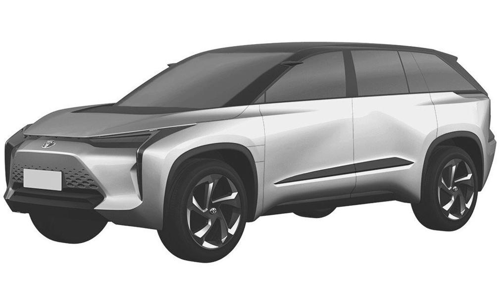 Электрические кроссоверы Toyota