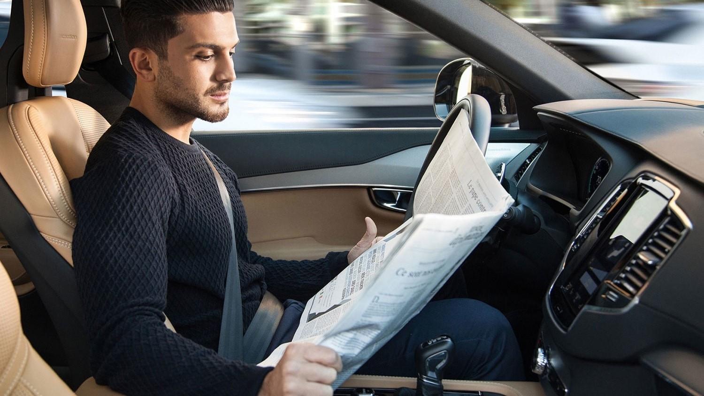 Автопилот в автомобиле