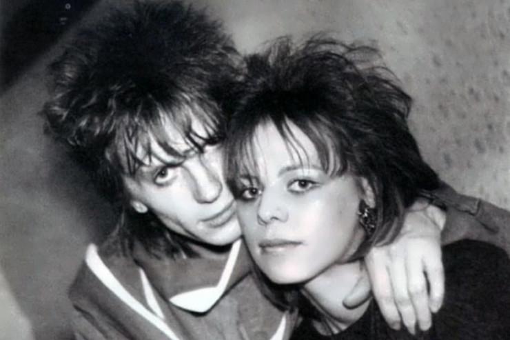 Ирина Салтыкова с супругом в молодости