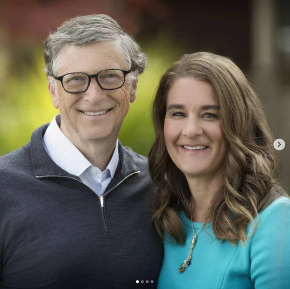 Билл Гейтс и его жена