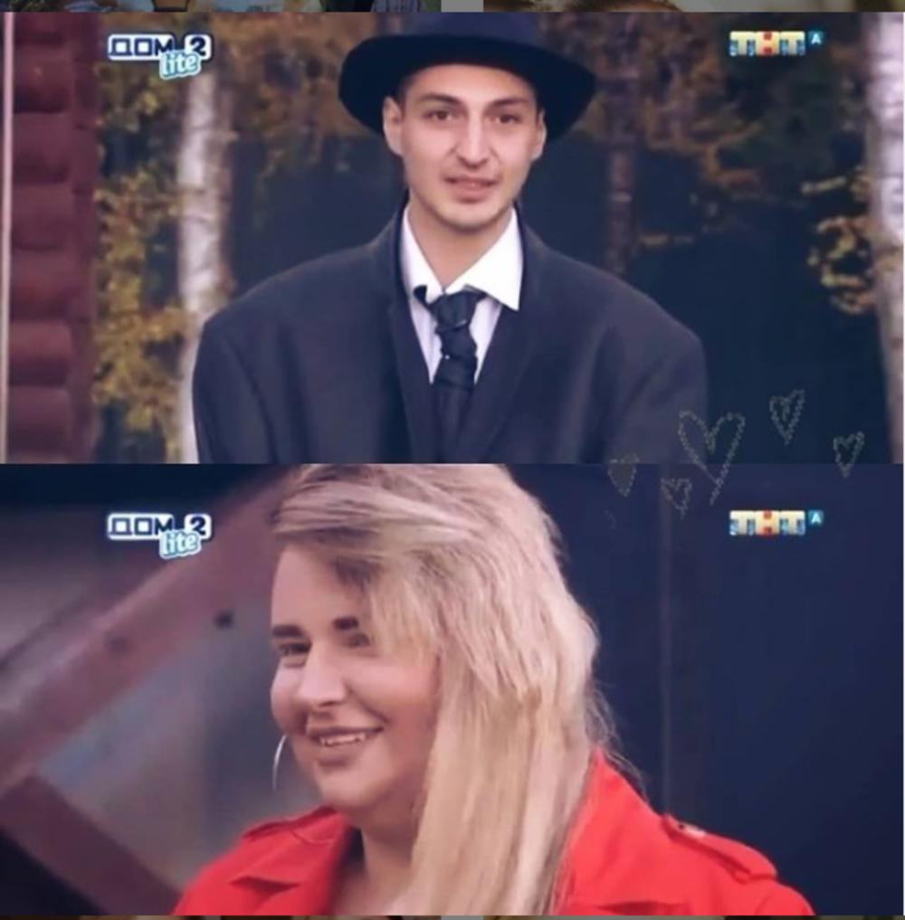 Саша Черно с мужем на проекте Дом-2