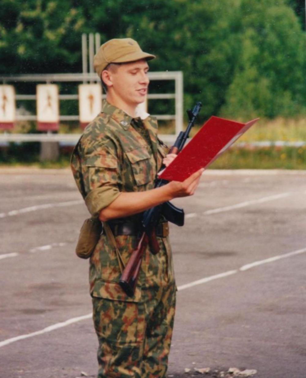 Тимур Батрутдинов в армии