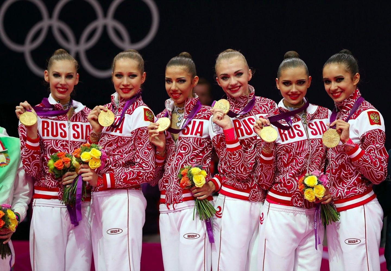 Российских гимнасток