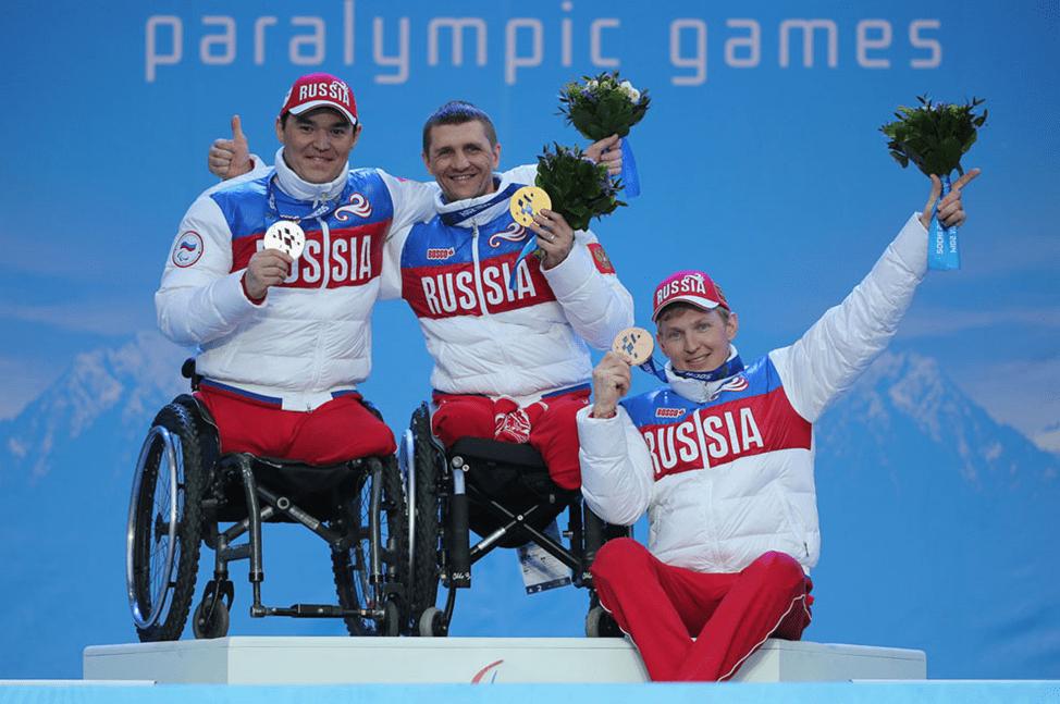 Сборная параолимпийцев