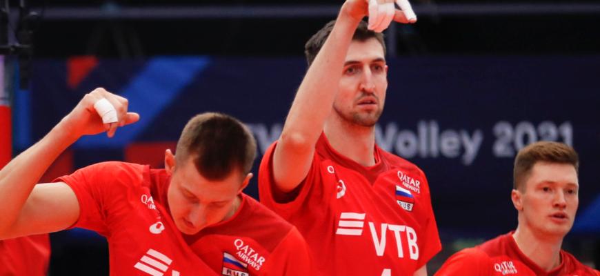 Российские волейболисты стали лучшими в Европе